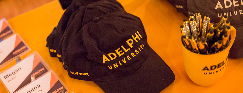 Adelphi Hat, Mug and Name Tags